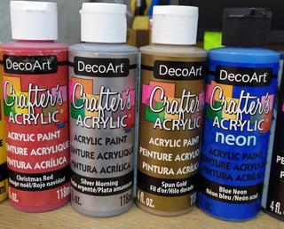 Pinturas Acrílicas Crafter Acrylic - 118 Ml