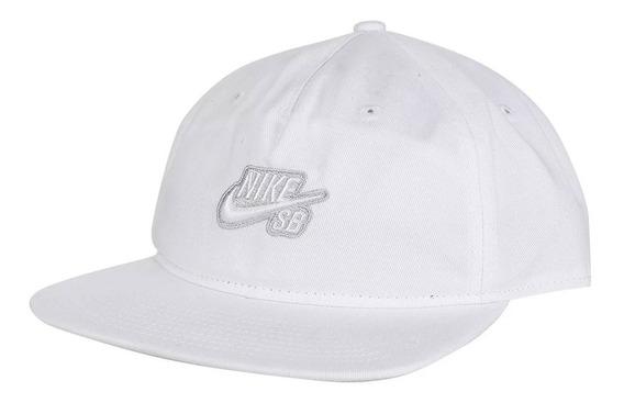 Gorra Cap Nike Sb Pro White/wolf Grey Ci4460-100 (4461)