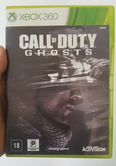 Call Of Duty Ghosts Português Mídia Física Original Xbox 360