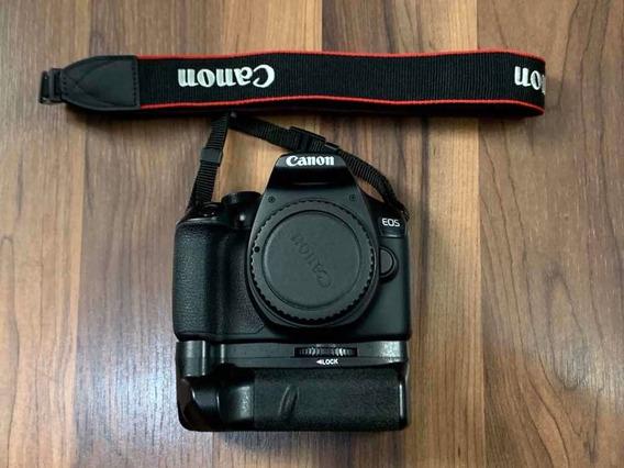Câmera Canon T6 + Lente +grip + 02 Baterias + Bolsa + Cartão