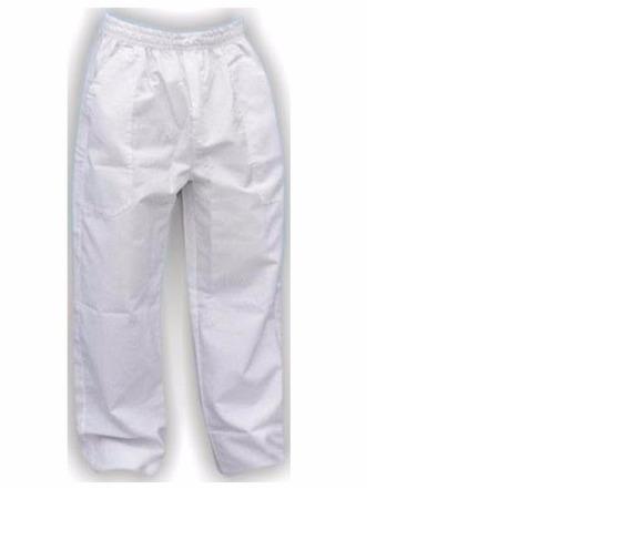 7 Calças Profissionais Branca Brim Pesado (3m,3g,1gg,)