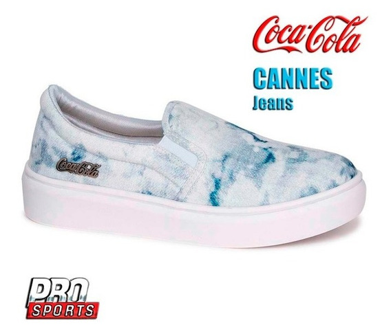 Coca Cola Shoes Cannes Jeans - Original - Ex