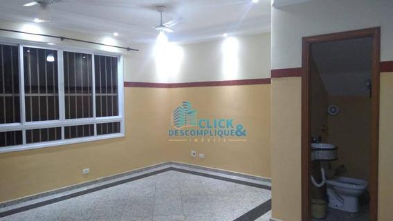 Sobrado Com 4 Dormitórios Para Alugar, 152 M² Por R$ 5.500,00/mês - Ponta Da Praia - Santos/sp - So0186