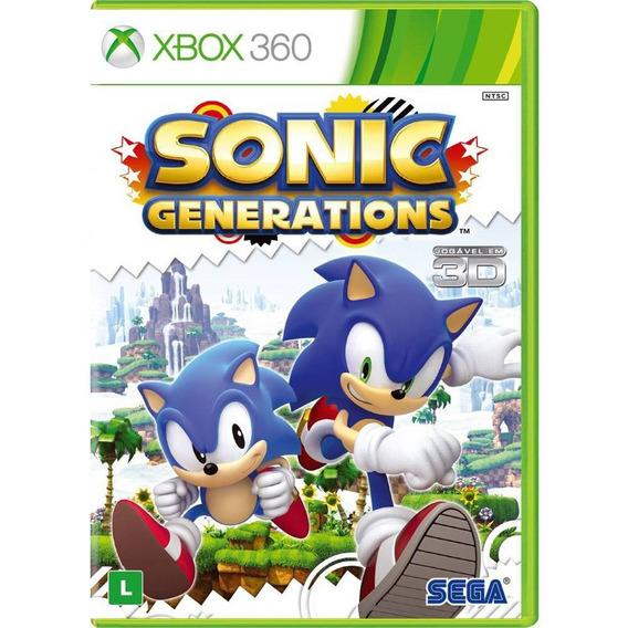 Sonic Generations - Xbox 360 - Midia Fisica (game Tech)