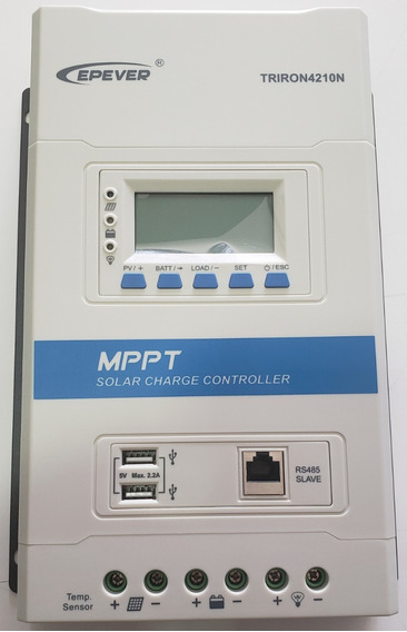 Substituto Do Tracer 40a - Triron 40a Mppt 12/24v Epever