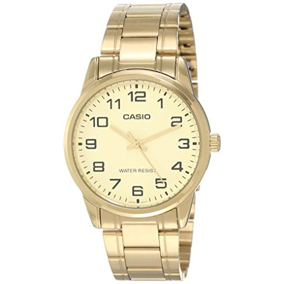 Casio Mtp-v001g-9b Reloj Estándar De Acero