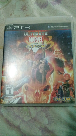 Ultimate Marvel Vs Capcom3 Raro Ps3