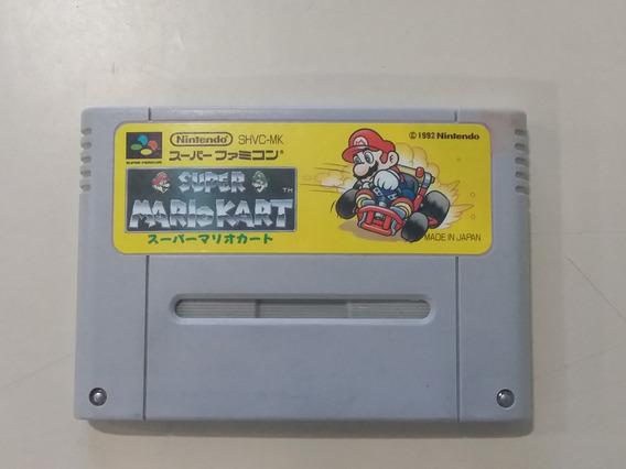 Jogo Super Nintendo Super Mario Kart Original - Frete Grátis