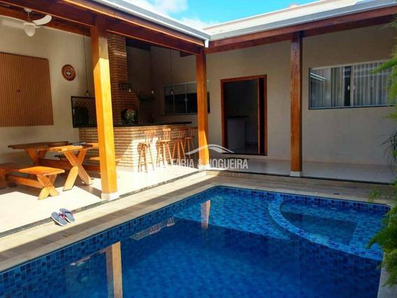 Casa Com 2 Dormitórios Sendo 1 Suíte À Venda, 144 M² Por R$ 470.000 - Diário Ville - Rio Claro/sp - Ca0592