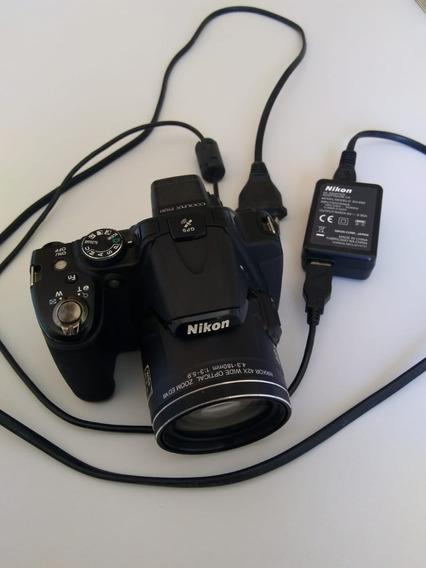 Câmera Nikon Coolpix P520 (semi Profissional)