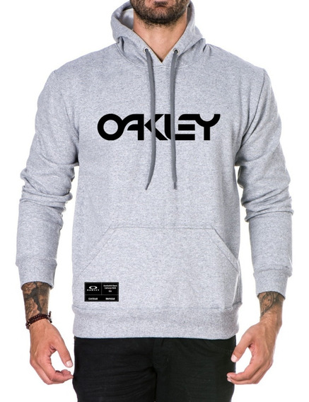 Blusa De Frio Moleton Canguru Oakley Promoção Blusão