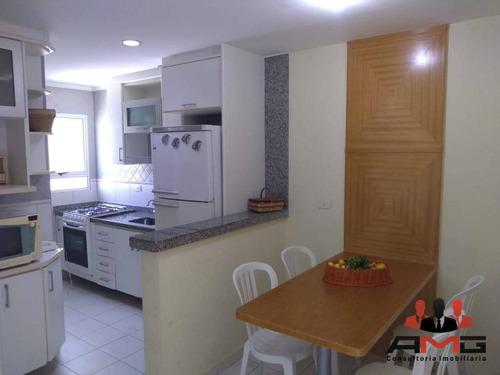 Village Com 3 Dormitórios À Venda, 96 M² Por R$ 740.000,00 - Riviera - Módulo 30 - Bertioga/sp - Vl0208