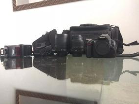 Câmera D5000 + Acessórios Aceito Troca