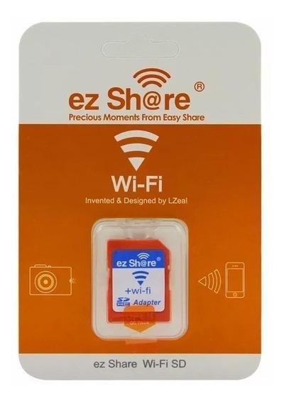 Adaptador Cartão Sd Wi-fi Ez-share Similar Toshiba Flashair