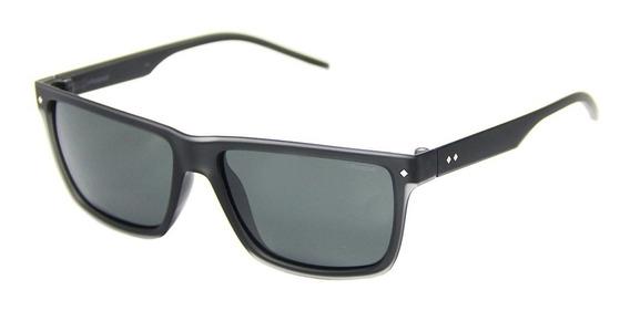 Óculos De Sol Polaroid 2039 Masculino + Limpa Lentes