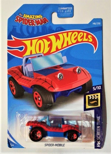 Hot Wheels Spider-mobile The Amazing Spiderman 2017
