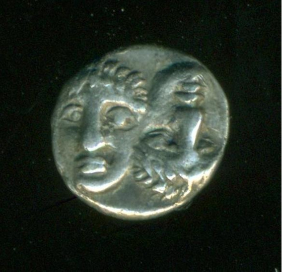 Grecia Antigua Moneda Moesia Istros Óbolo Siglo Iv A.c Rara