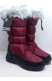 Botas Mujer Impermeable Gummi Art Ur Winter Zona Zapatos