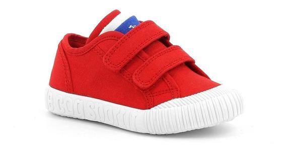 Zapatillas Le Coq Sportif Niños Nationale Rojo