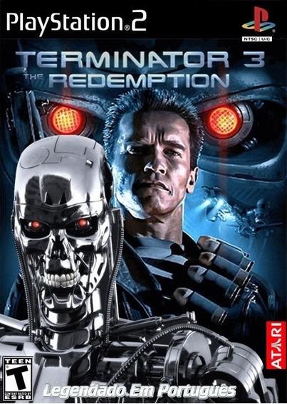 Terminator 3: The Redemption Legendado Em Português - Ps2