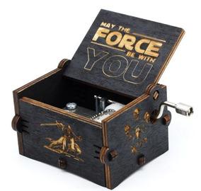 Caixinha Caixa De Música Star Wars (manivela) Pronta Entrega