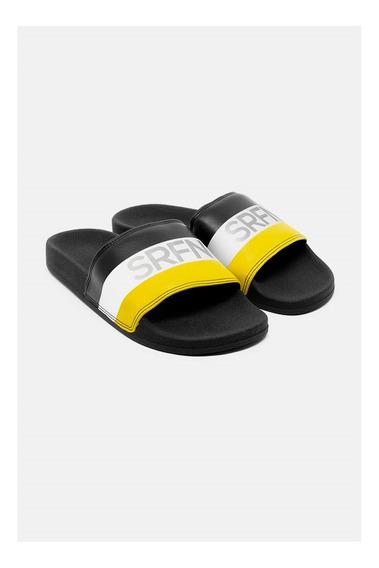 Slide Srfn Preto Branco E Amarelo Serafine