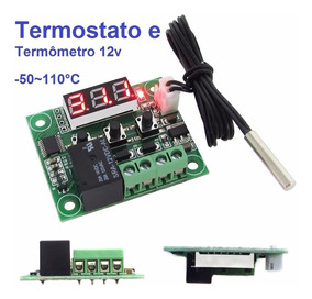 Termostato W1209 Controle Temperatura Arduino Chocadeira