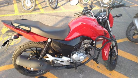 Cg 160 Fan Vermelha.