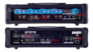 Consola Potenciada Moon M410 4 Canales 200w Musica Pilar