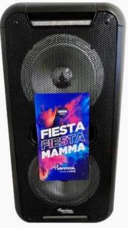 Parlante Harrison Kanji Mamma 1200w Pmpo Microfono+control