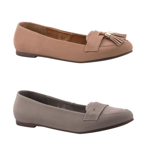 Kit 2 Pares De Balerinas Pink By Price Shoes 3085 Ves 170534