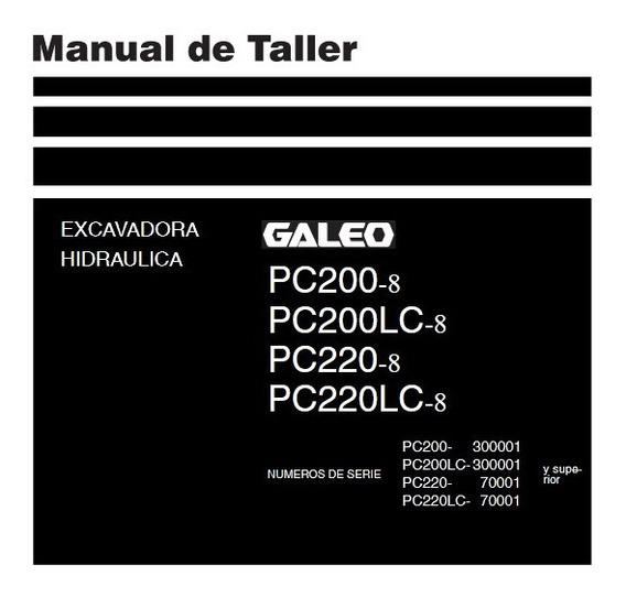 Komatsu Pc200 -220 Y Pc200-220lc, Manual De Taller
