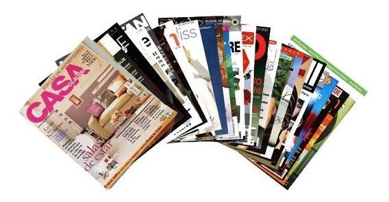 Revista Decora Arquitetura Casa Cláudia Jardim Livro Info4