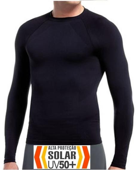 Kit 3 Camisa Térmica Uv50+ Proteção Solar +1 Infantil Brinde