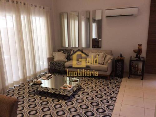 Casa Com 3 Dormitórios À Venda, 295 M² Por R$ 1.450.000 - Vila Do Golf - Ribeirão Preto/sp - Ca1047