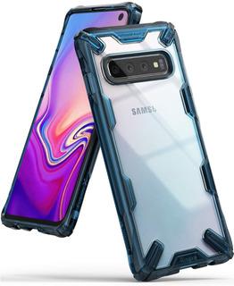 Capa Capinha Galaxy S10 (6.1) Ringke Fusion-x Transparente