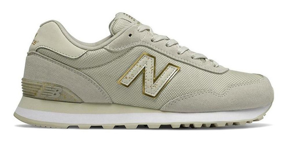 Tênis New Balance Wl515hro 515 Casual Branco Feminino