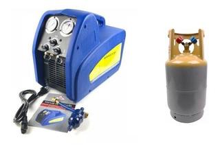 Recolhedora Recicladora + Tanque Recolhedor Gás Refrigerante