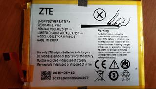 Pila Bateria Interna Zte Blade V6 Seminueva 2200mah Original