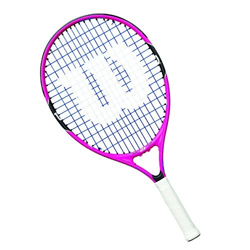 Raqueta De Tenis Wilson Junior Burn 23 Rosa- Envío Gratis