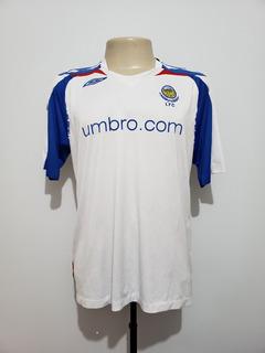 Camisa Futebol Linfield Irlanda Do Norte 2007 Away Umbro G