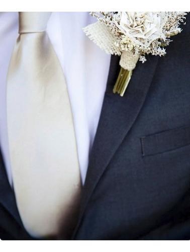 Imagem 1 de 6 de Kit 10 Un Gravata Perola