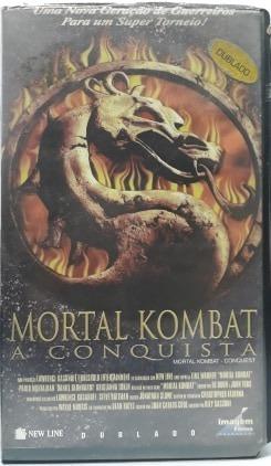 Filme Fita Vhs- Mortal Kombat A Conquista- Dublado