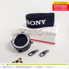 Porta Lentes 2x1 Para Lente Sony Montagem E + Frete Grátis