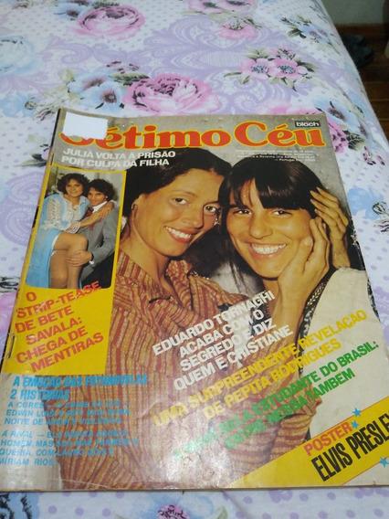 Revista Sétimo Céu 1978 Bem Conservada.