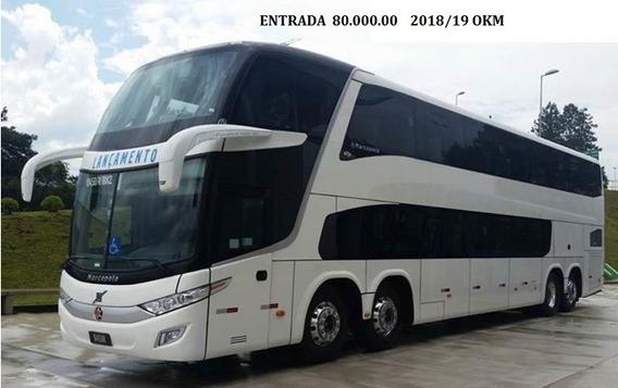 Marcopolo G7 Dd 1800 56 Lug 2018/19 Entrada + Parcelas
