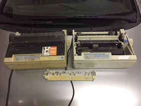 Impressora Matricial Epson Lx 300 Não Sei Se Funciona