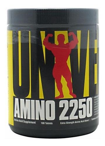 Amino 2250 Universal Nutrition - 100 Tabletas