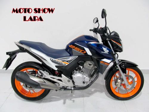 Honda Cb Twister 250 2020 Azul Cbs