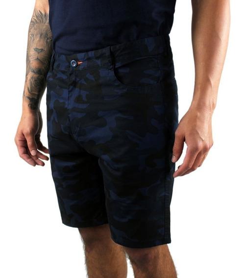 Short Bermuda Para Hombre Camuflaje Casual